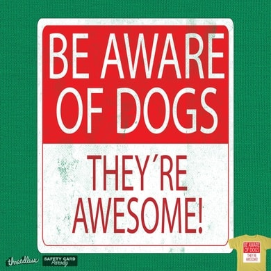 Be Aware of Dogs