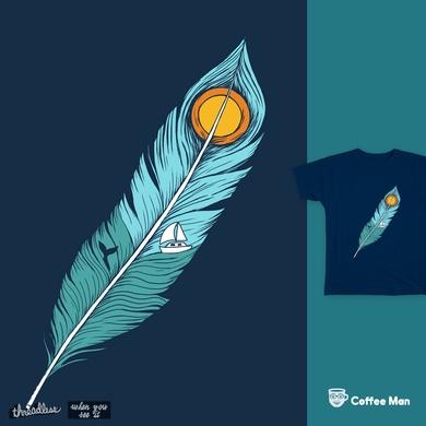 Feather Landscape