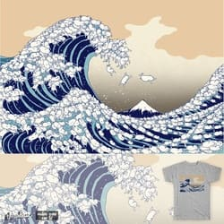 the great wave of kawaii