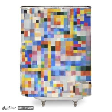 wiegandmix (shower curtain)