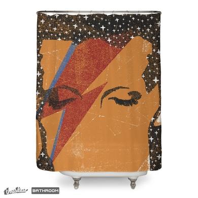 Starman (shower curtain)