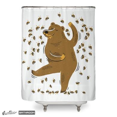 Bear, bees and honey