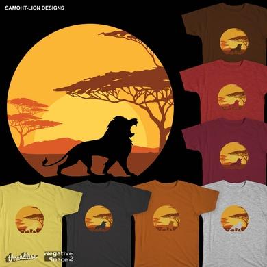 Lion Sunrise