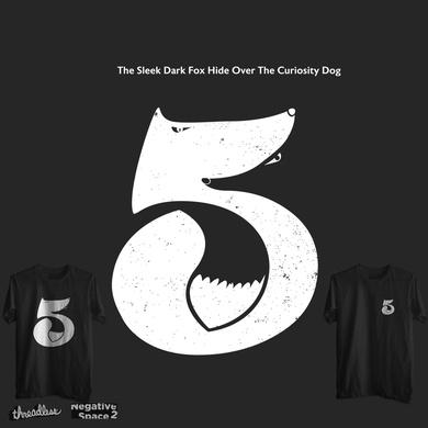 The Sleek Dark Fox Hide Over The Curiosity Dog