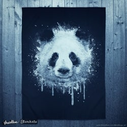Watercolor Panda Portrait!