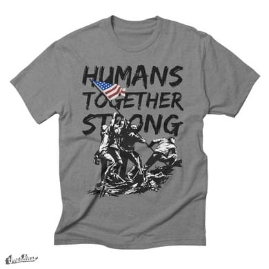 HUMANS TOGETHER STRONG