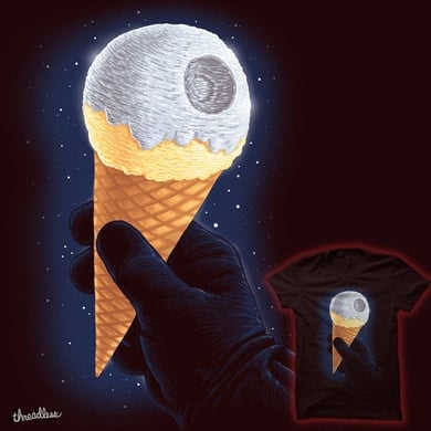 That´s no Moon, it´s an Ice-Cream!!