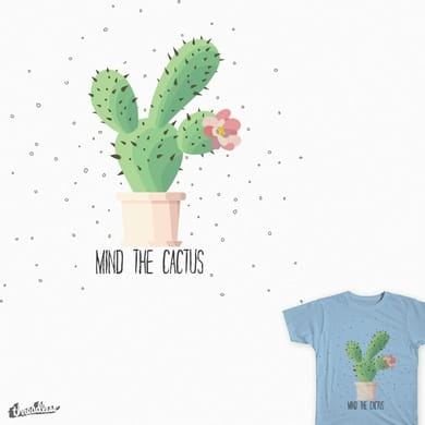 Mind the cactus
