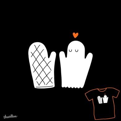 Oven Mitt & Ghost