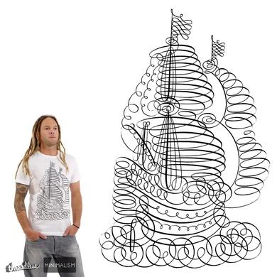 Pirate Ship Sailing the Seas