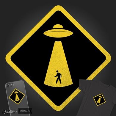CAUTION: UFO Crossing