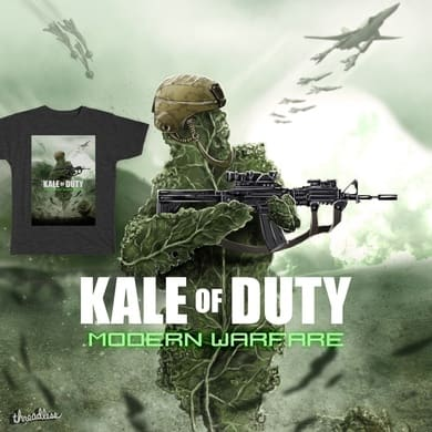 KALE OF DUTY