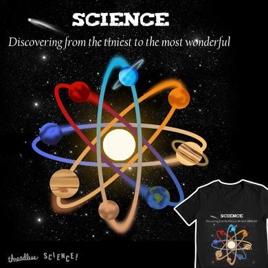 Atomic Solar System