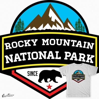 ROCKY MOUNTAIN NATIONAL PARK COLORADO BEAR HIKING CLIMBING CAMPING