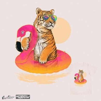 Chillin, Flamingo Tiger