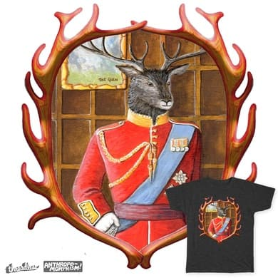 Portrait of a Royal Stag
