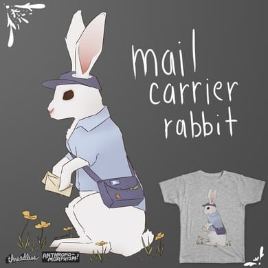 Mail Carrier Rabbit