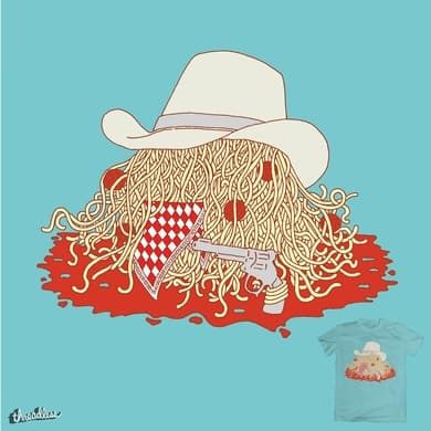 Flying Spaghetti Western Monster