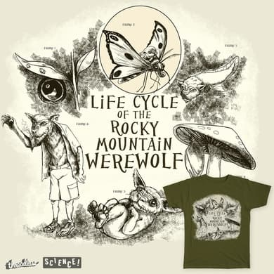 Life Cycle of the Rocky Mountain Werewolf