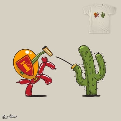 balloon vs cactus