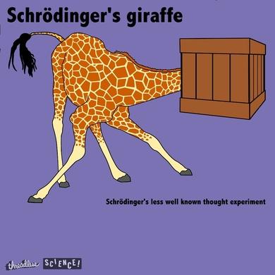 Schrodinger's giraffe