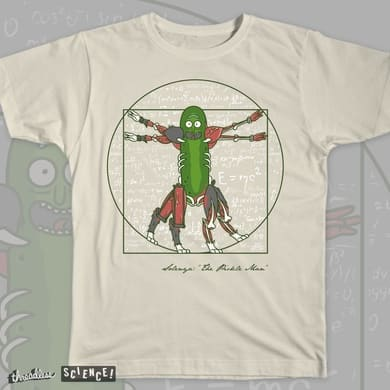 Vitruvian Pickle Man