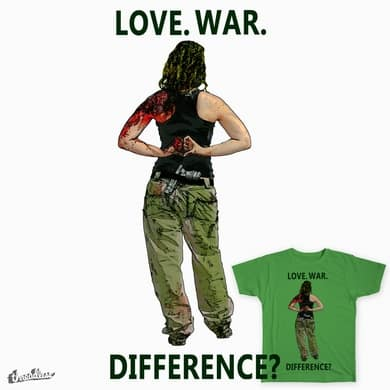 Love. War. Difference?