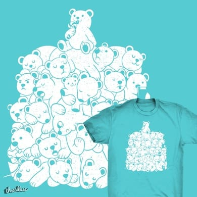 Bear T-Shirt Hibernation Kids