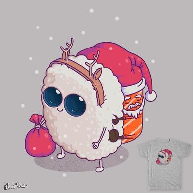 happy santa sushi
