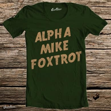 ALPHA MIKE FOXTROT