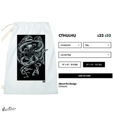 CTHULHU (LAUNDRY BAG)