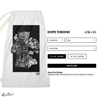 DOPE THRONE (LAUNDRY BAG)