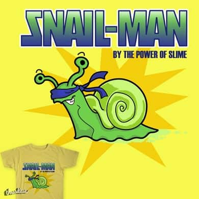 Snail-Man - by the Power of Slime
