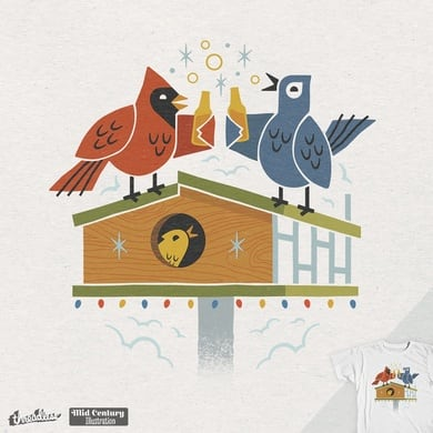 Bird-House Party