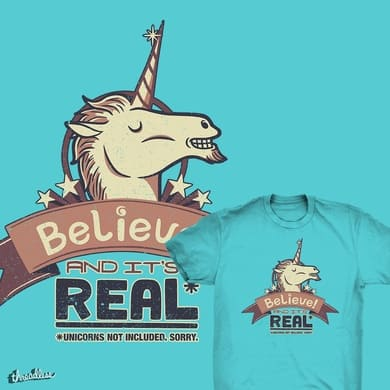 Unicorn Believe And Its Real