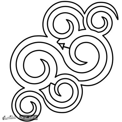 Uni-Line Labyrinth