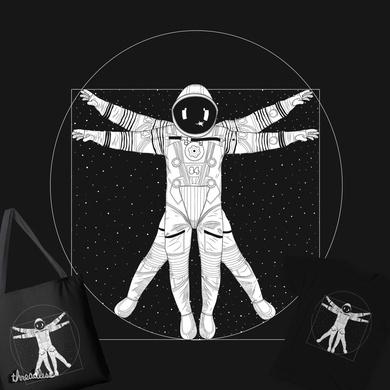 Vitruvian Spaceman