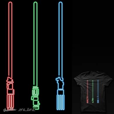 neon sabers