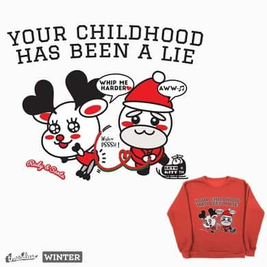 [Rudy & Santa] Your childhood has been a lie