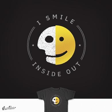 I smile inside out