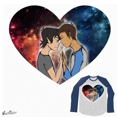 Galaxy full of love