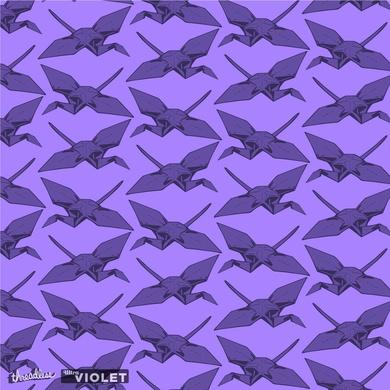 Purple Crane