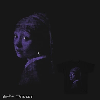 Girl with a pearl earring ultraviole refined