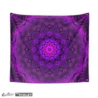 Ultra Violet Modern Mandala