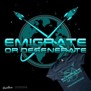 Emigrate or Degenerate