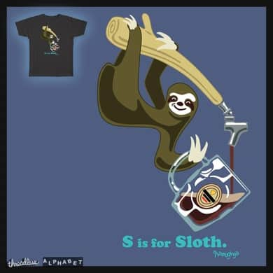 S is for Sloth!