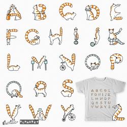 Cat Circus Alphabet