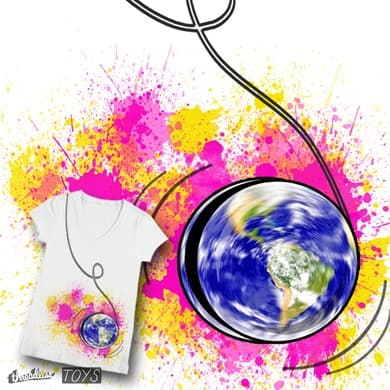 You spin my world round