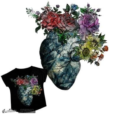 Flowered Heart