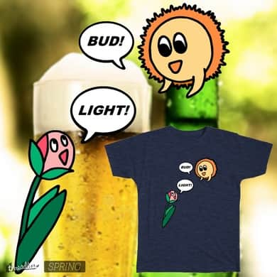 BUD and LIGHT